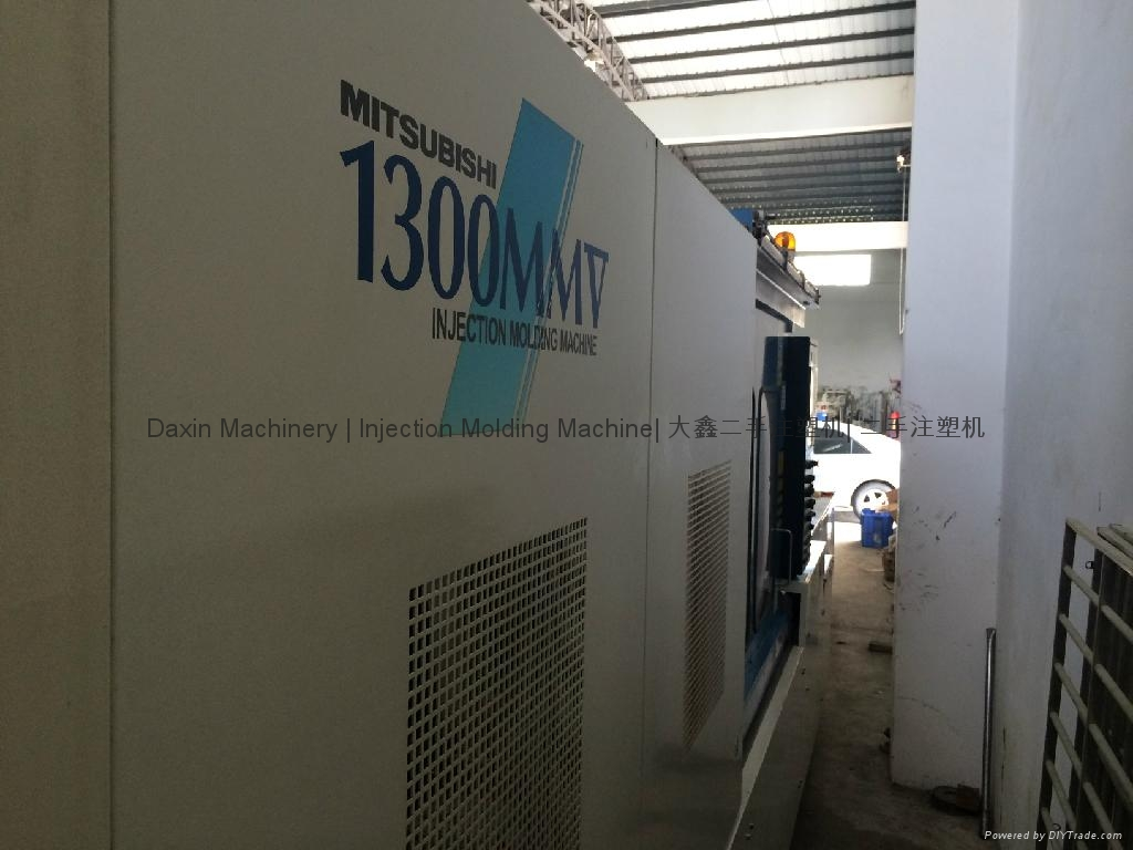 三菱1300吨二手注塑机