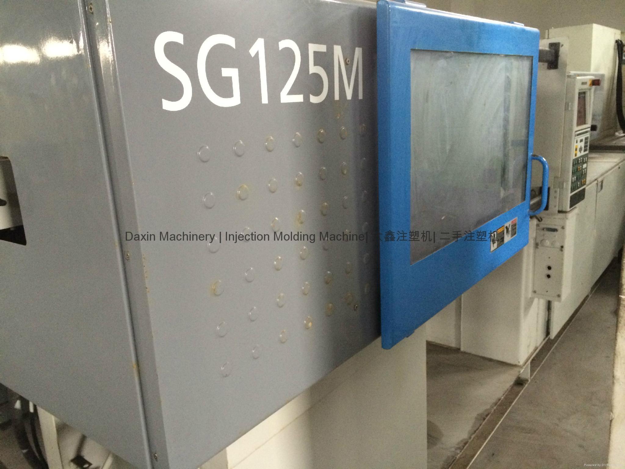 日本住友SG125M二手注塑机