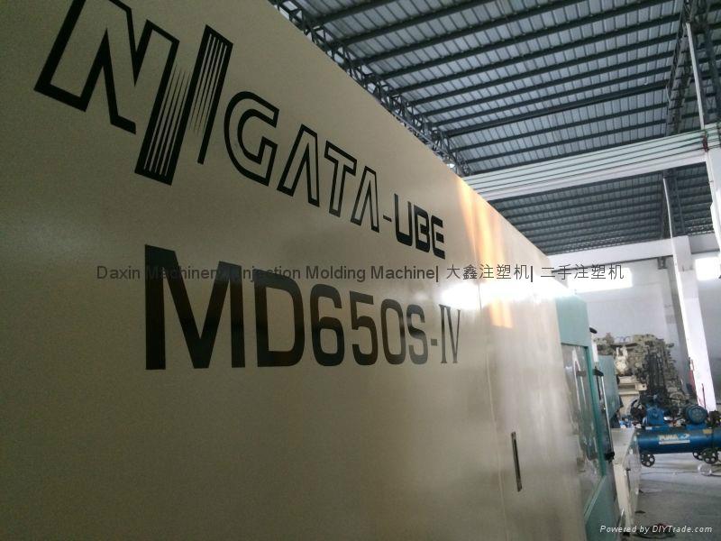 日本新泻650吨全电动二手注塑机