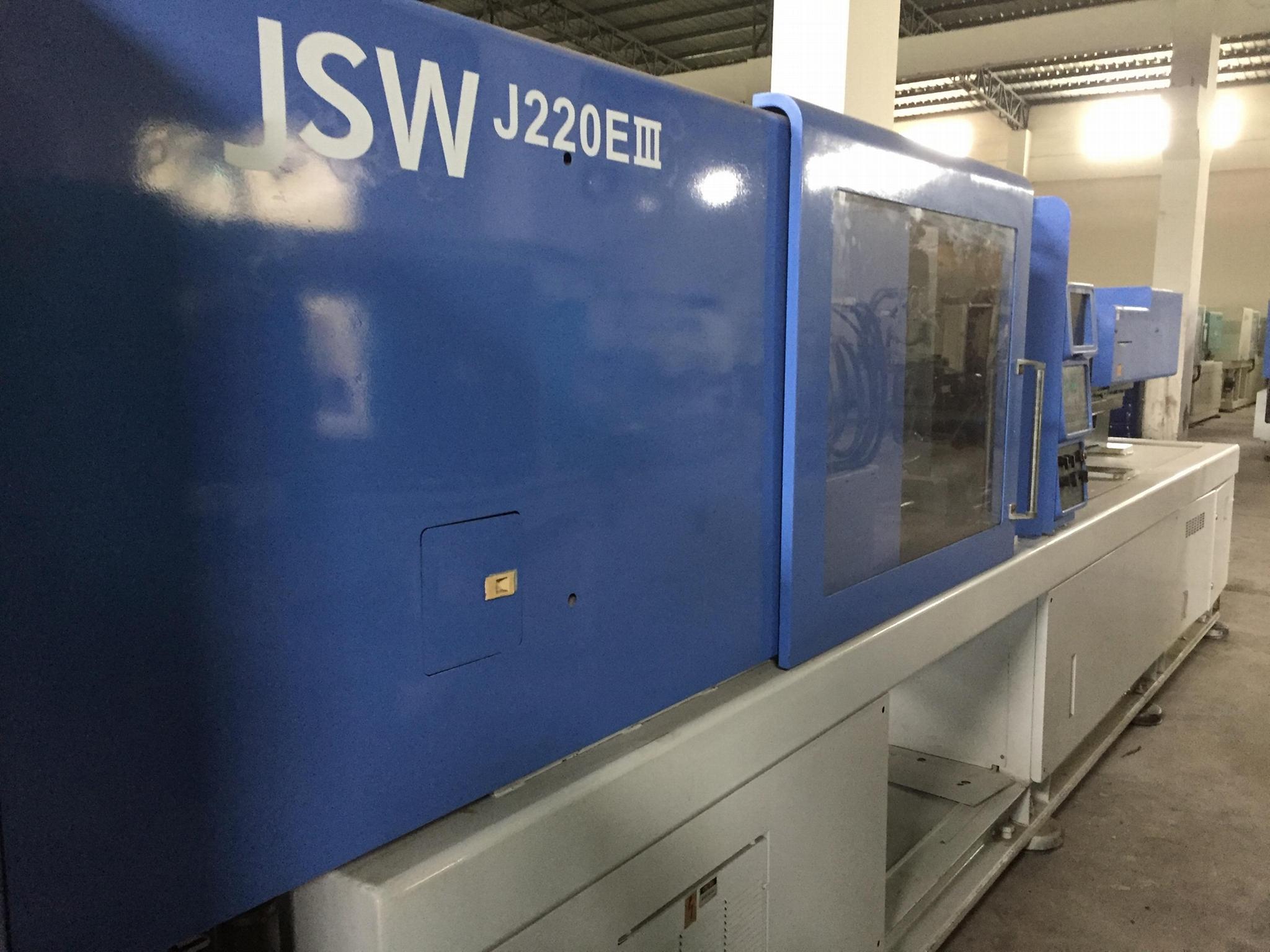JSWJ220EIII 日钢二手注塑机
